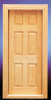 Dollhouse City - Dollhouse Miniatures 6-Panel Door