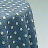 Skirted Table - Blue Mini Dot