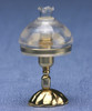 Victorian Reading Lamp - Clear Shades