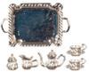 Antique Tea Set - Silver Plated