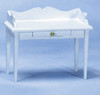 Dollhouse City - Dollhouse Miniatures Desk - White
