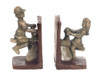 Dollhouse City - Dollhouse Miniatures Bookends Seesaw- Silver