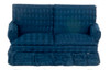 Traditional Loveseat - Blue