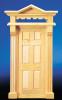 Dollhouse City - Dollhouse Miniatures Victorian 6-Panel Door