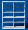 Large Shelf Unit - White