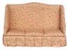Dollhouse City - Dollhouse Miniatures Sofa - Tan Fabric