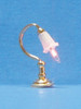 Dollhouse City - Dollhouse Miniatures Canted Shades Desk Lamp
