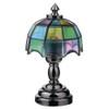 LED Nickel Tiffany Table Lamp