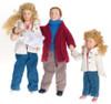 Modern Doll Family Set