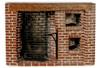 Colonial Walk-In Fireplace