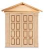 Dollhouse City - Dollhouse Miniatures 8 Raised Panels Double Door