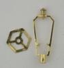 Dollhouse City - Dollhouse Miniatures Harp with Hexagon Ring