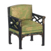 Chinese Chippendale Armchair - Black
