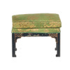 Chinese Chippendale Stool - Black