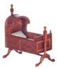 15th Century Tudor Cradle - Walnut