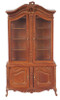 LOUIS XV Display Cabinet - Walnut