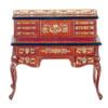 Desk with Desk Top Drawers - Walnut