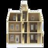New Haven Dollhouse Kit