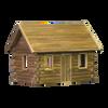 Crockett's Log Cabin Dollhouse Kit