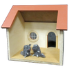 Mouse House Dollhouse Kit