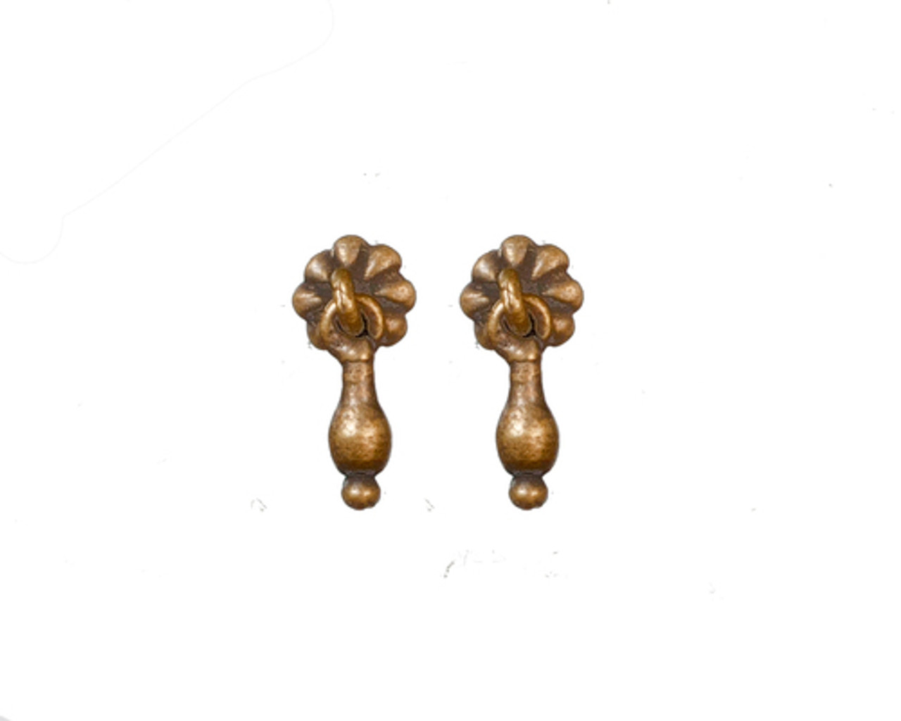 Cabinet Pulls - Antique Brass