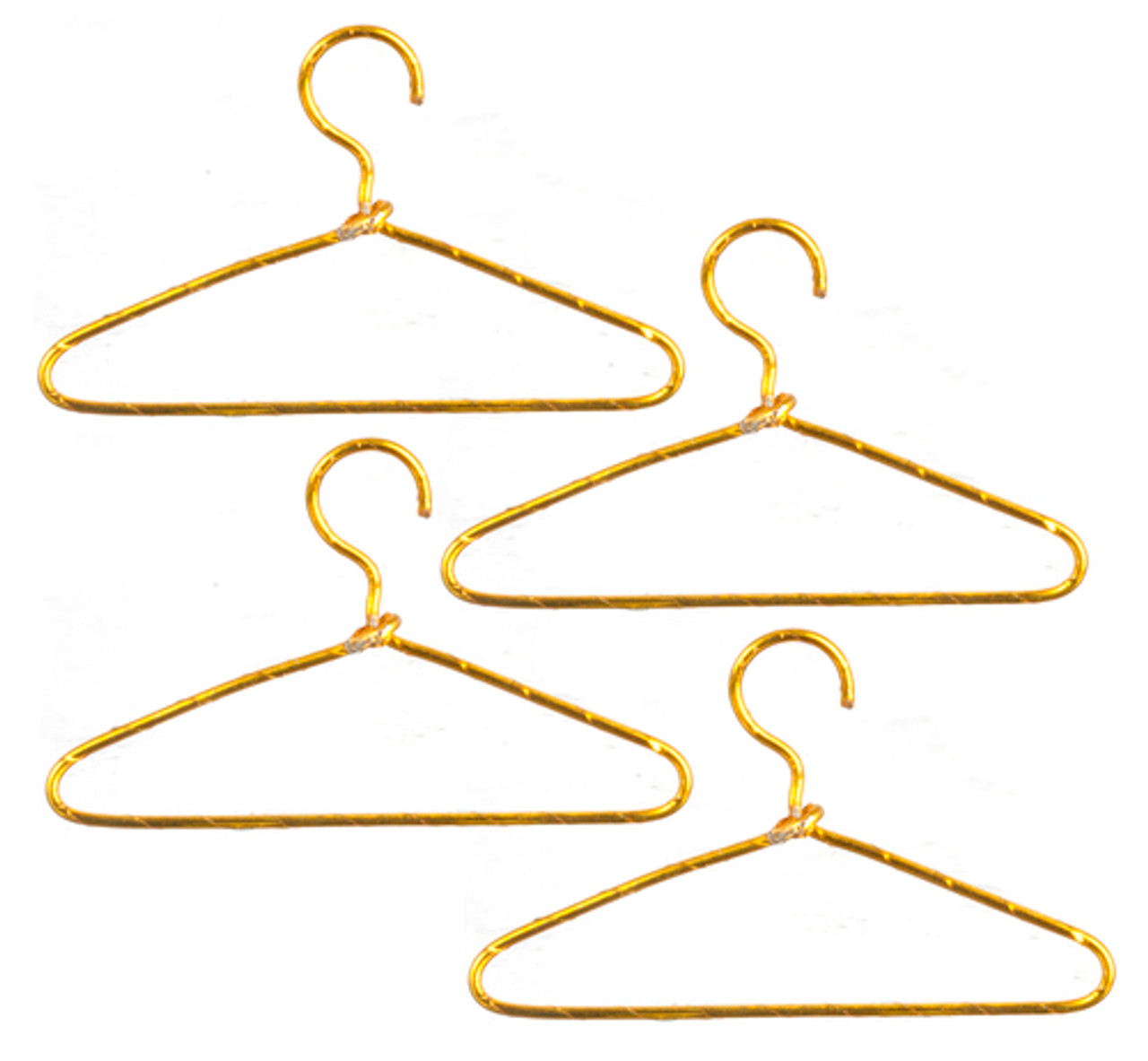 Wire Hangers - Gold
