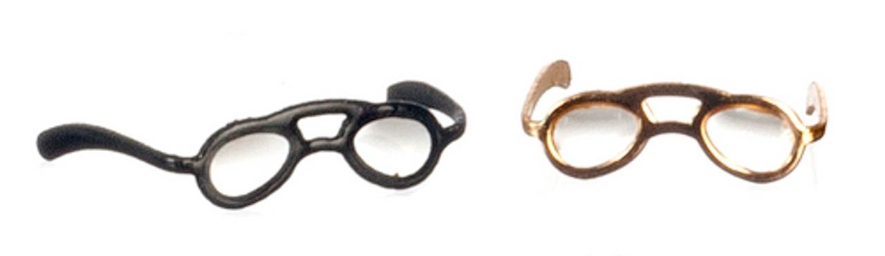 Reading Glasses Set - Antique