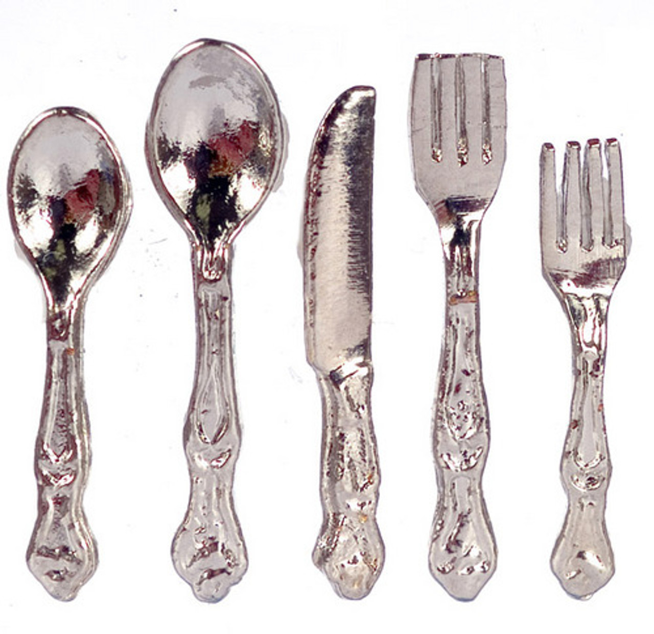 Dollhouse City - Dollhouse Miniatures Silverware Set