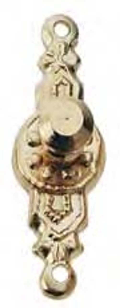 Round Doorknob Set - Brass