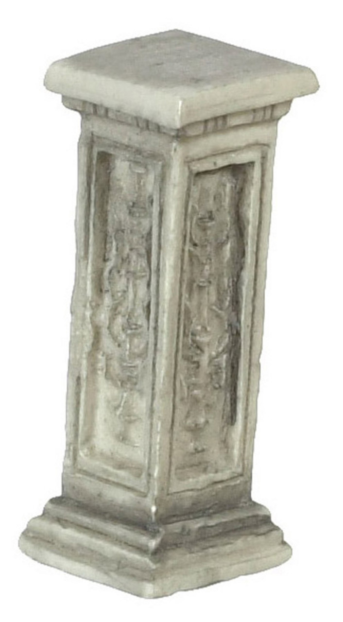 Dollhouse City - Dollhouse Miniatures Pedestals - Grey