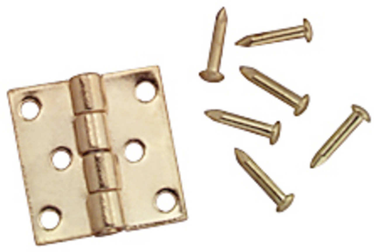 Dollhouse City - Dollhouse Miniatures Butt Hinges with Nails