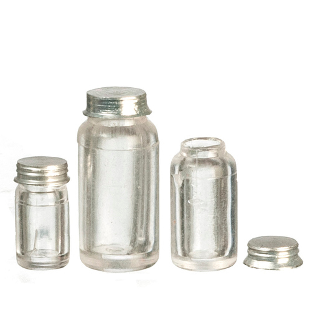 Mason Jars Set - Red