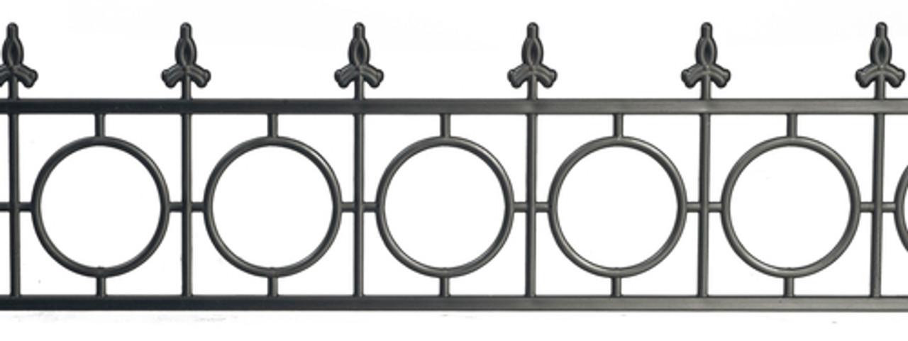 Widow Walk Fence - Black