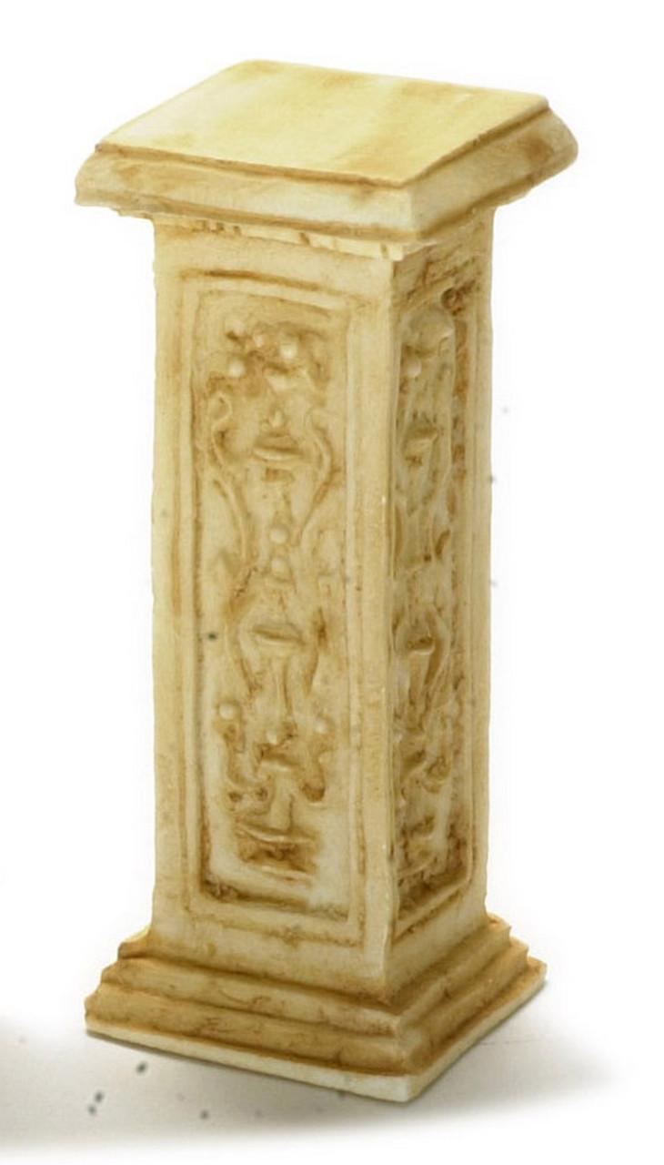 Dollhouse City - Dollhouse Miniatures French Pedestal - Tan