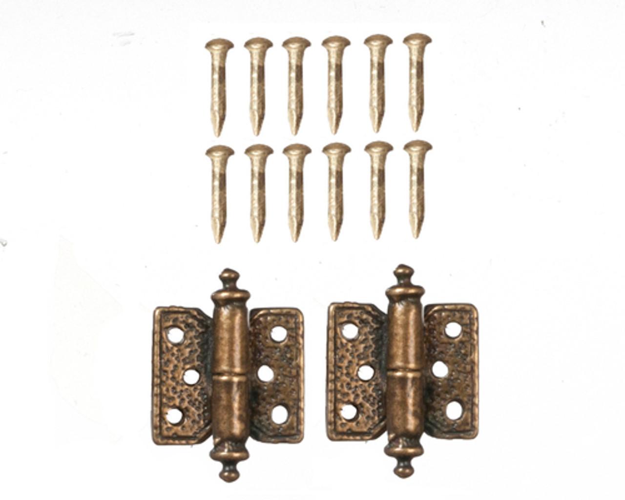 Hinges - Antique Brass