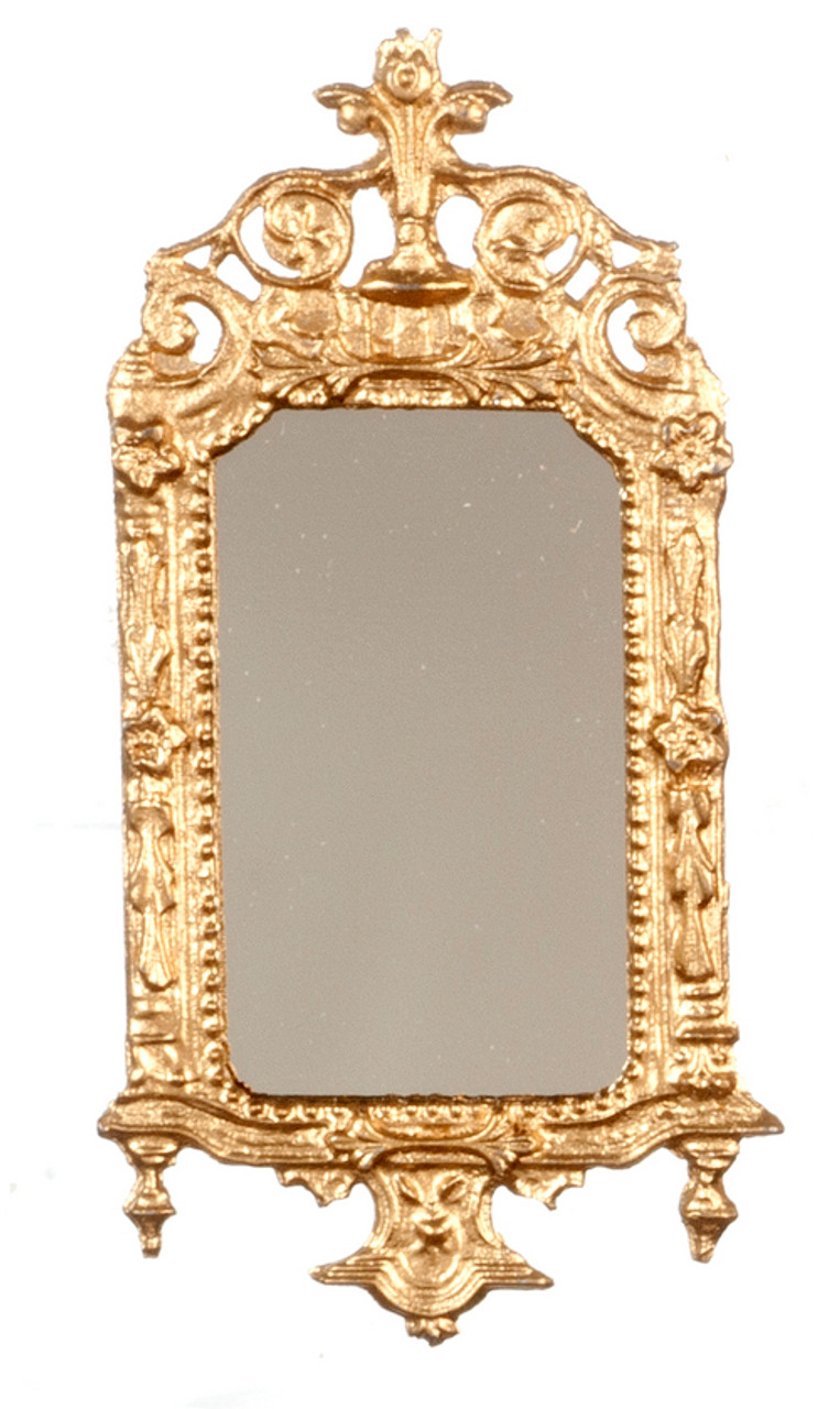 Victorian Mirror - Ornate and Gold