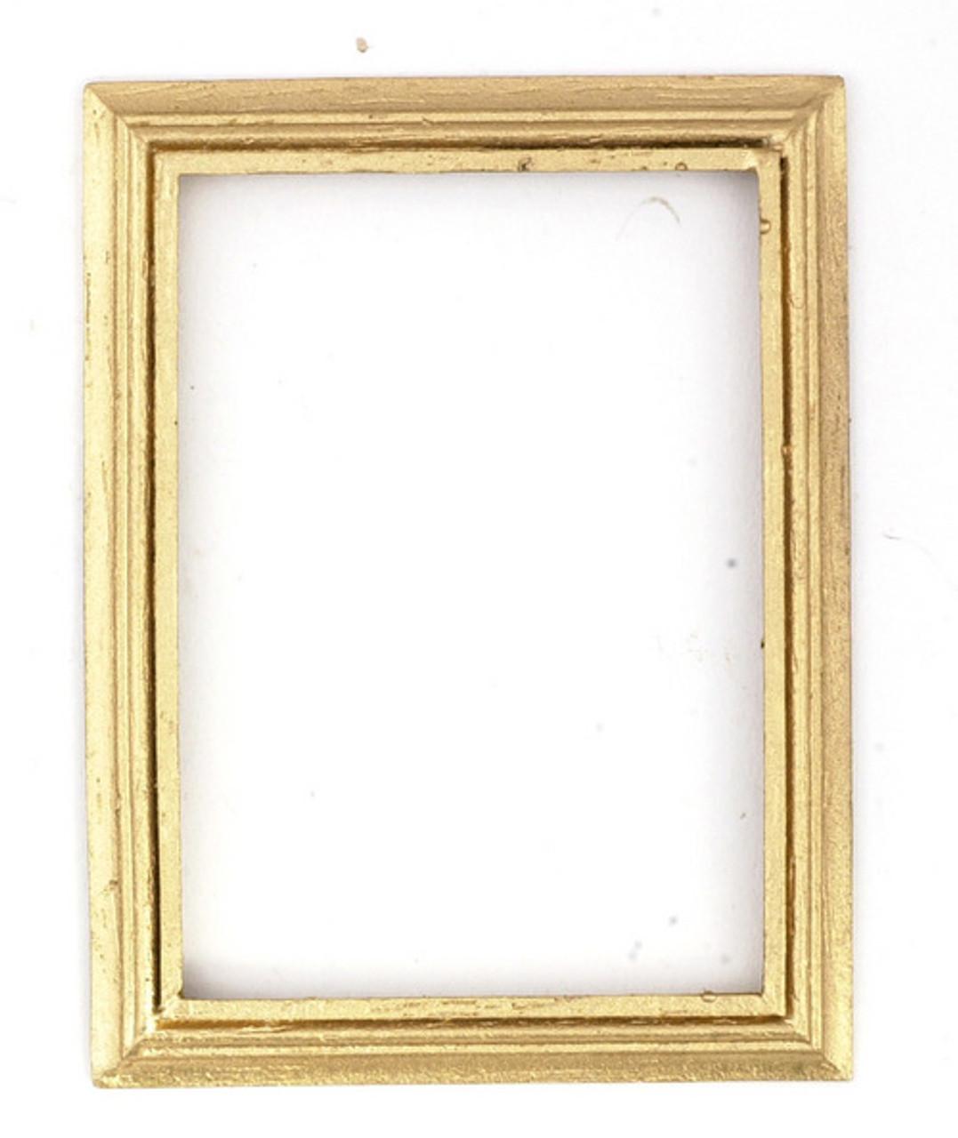 Dollhouse City - Dollhouse Miniatures Frame - Gold