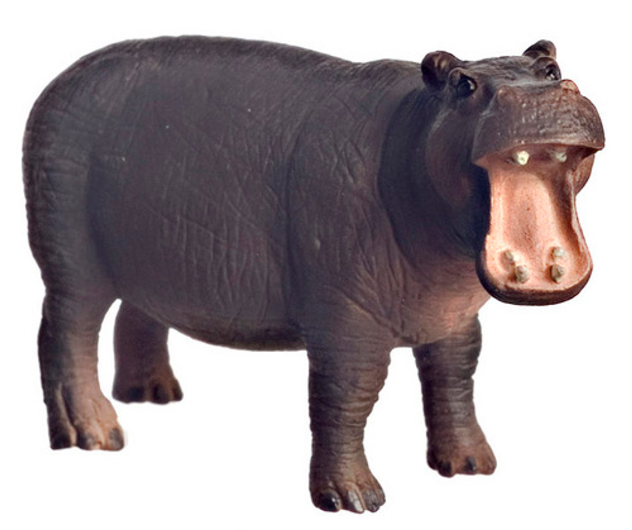Dollhouse City - Dollhouse Miniatures Scale Hippopotamus