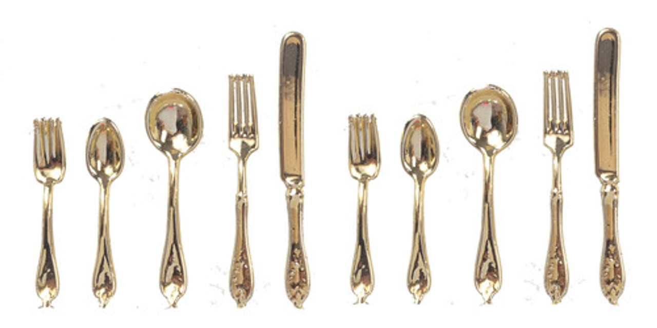 Set Gold SilverWare