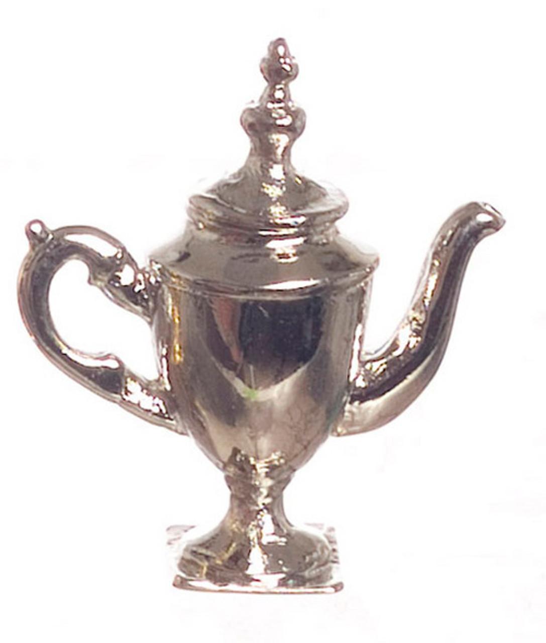 Dollhouse City - Dollhouse Miniatures Coffee Pot - Silver