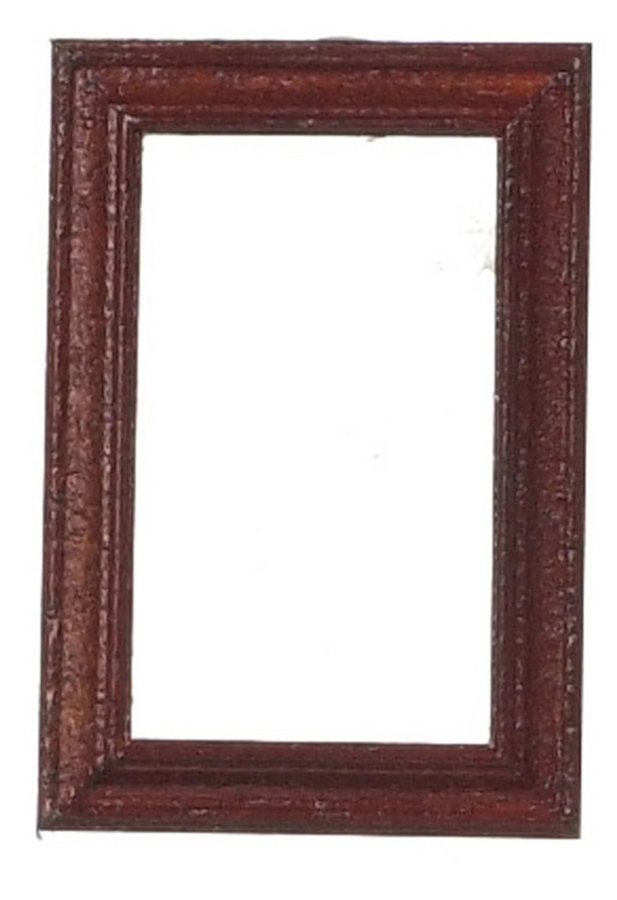 Dollhouse City - Dollhouse Miniatures Wood Frame Set - Mahogany