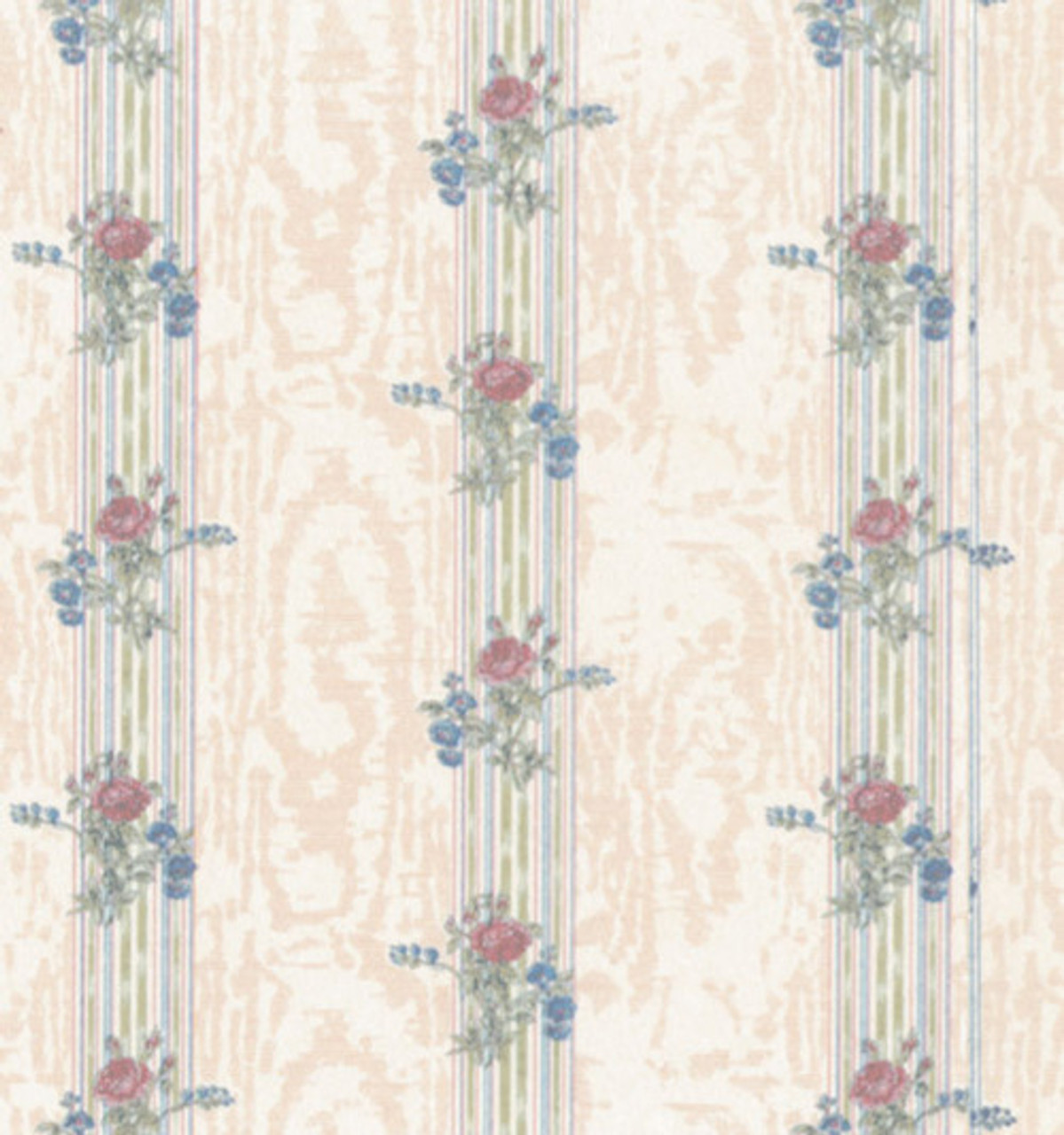 Wallpaper Reflections Set - Cream and Rose