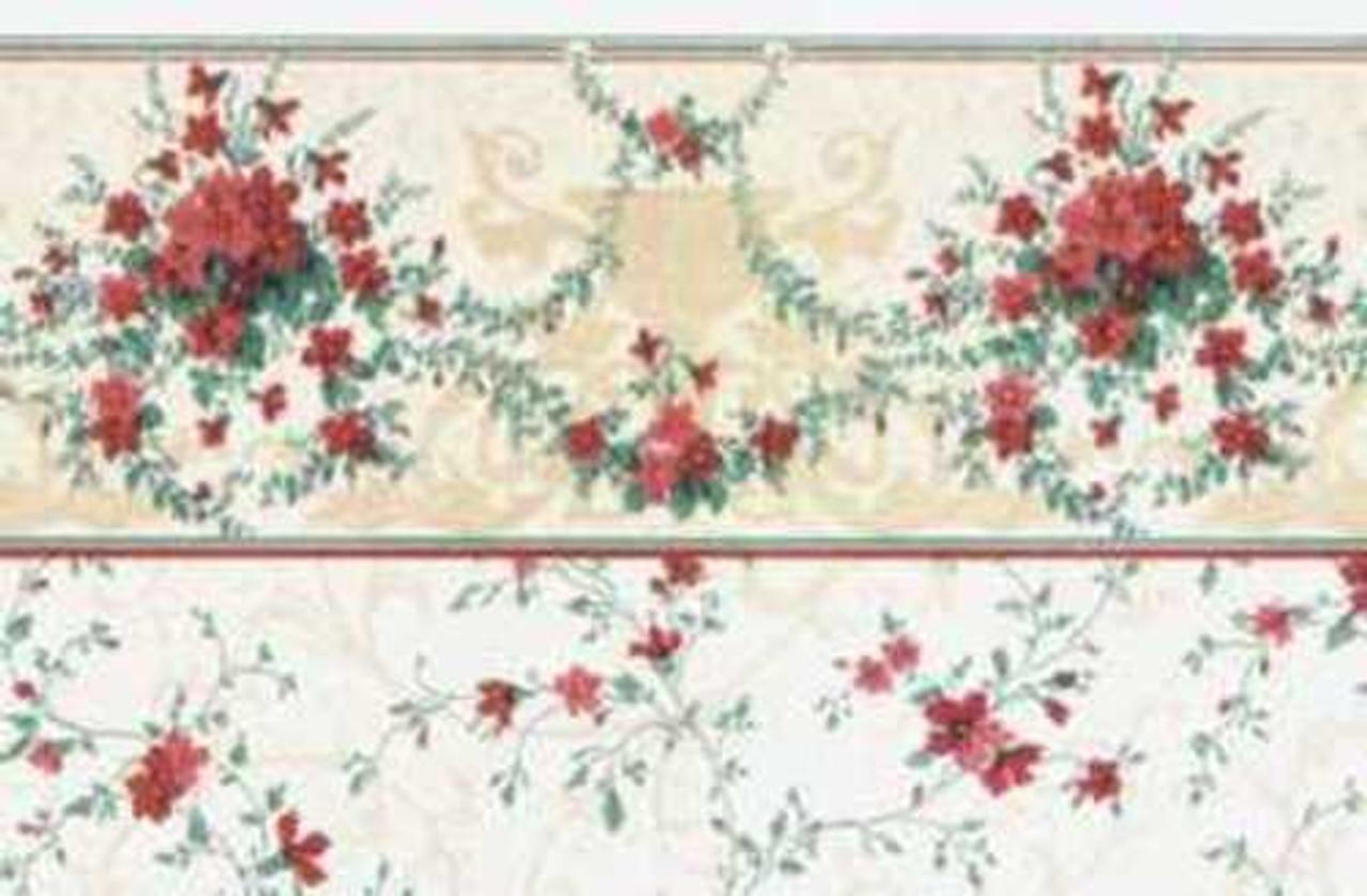Wallpaper Sonata Set - Burgundy