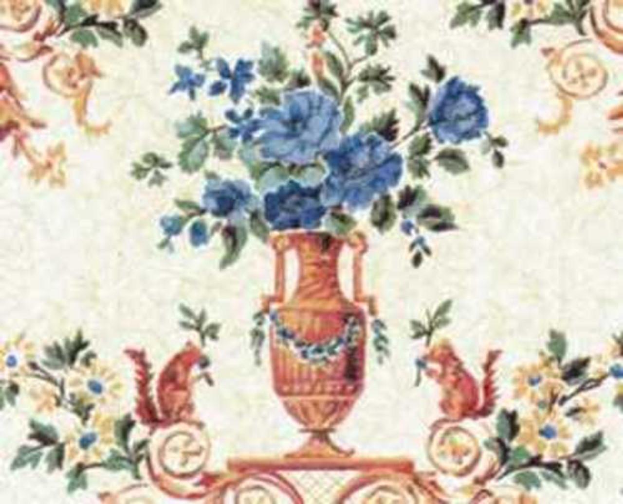 Wallpaper Dubarry Set - Burgundy