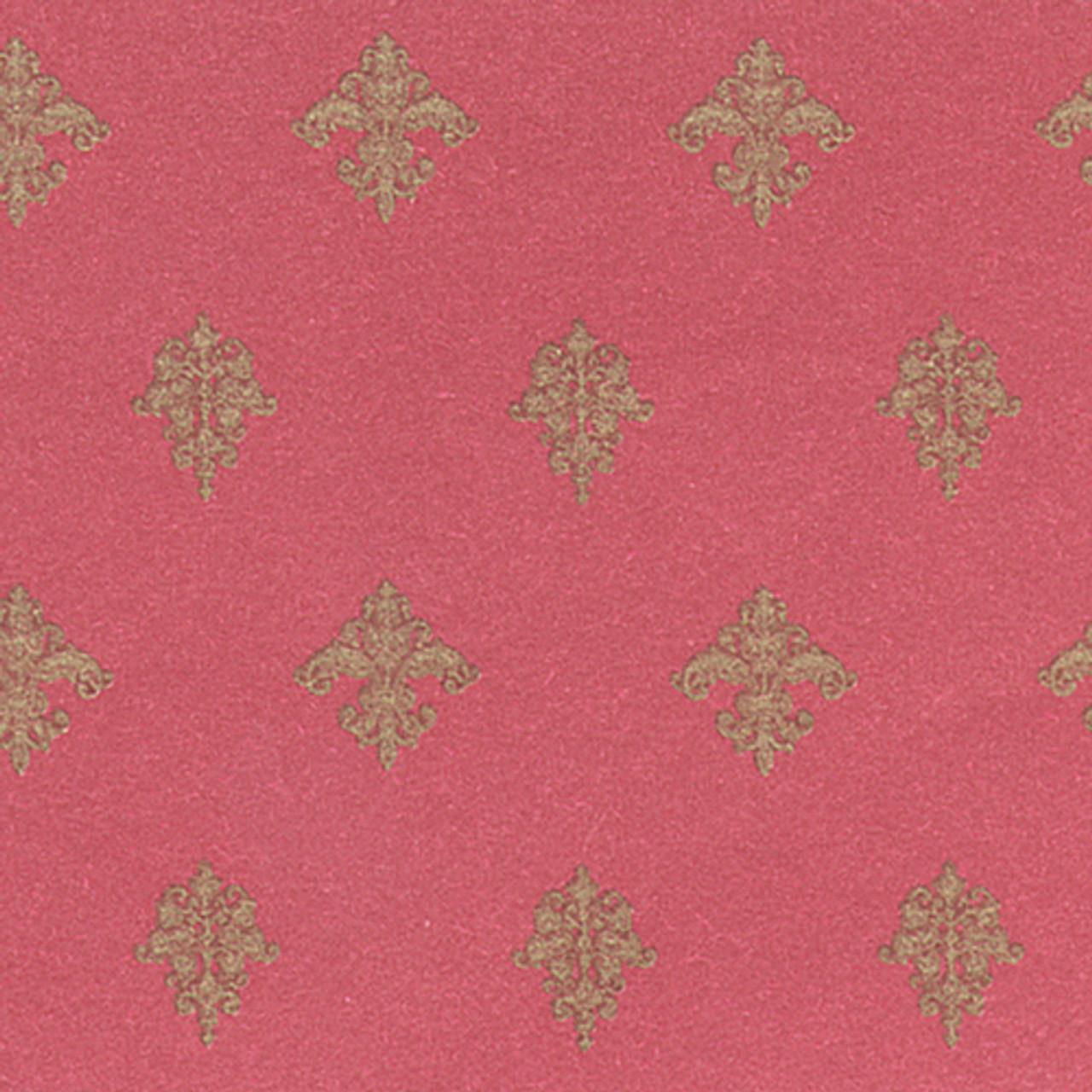 Wallpaper Majestic Set - Burgundy