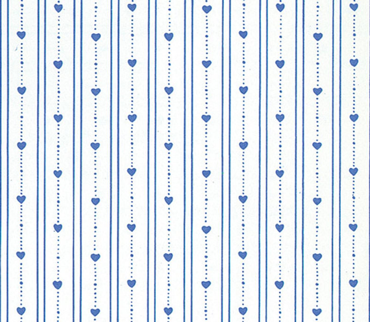Wallpaper Bearly Hearts Set - Dark Blue
