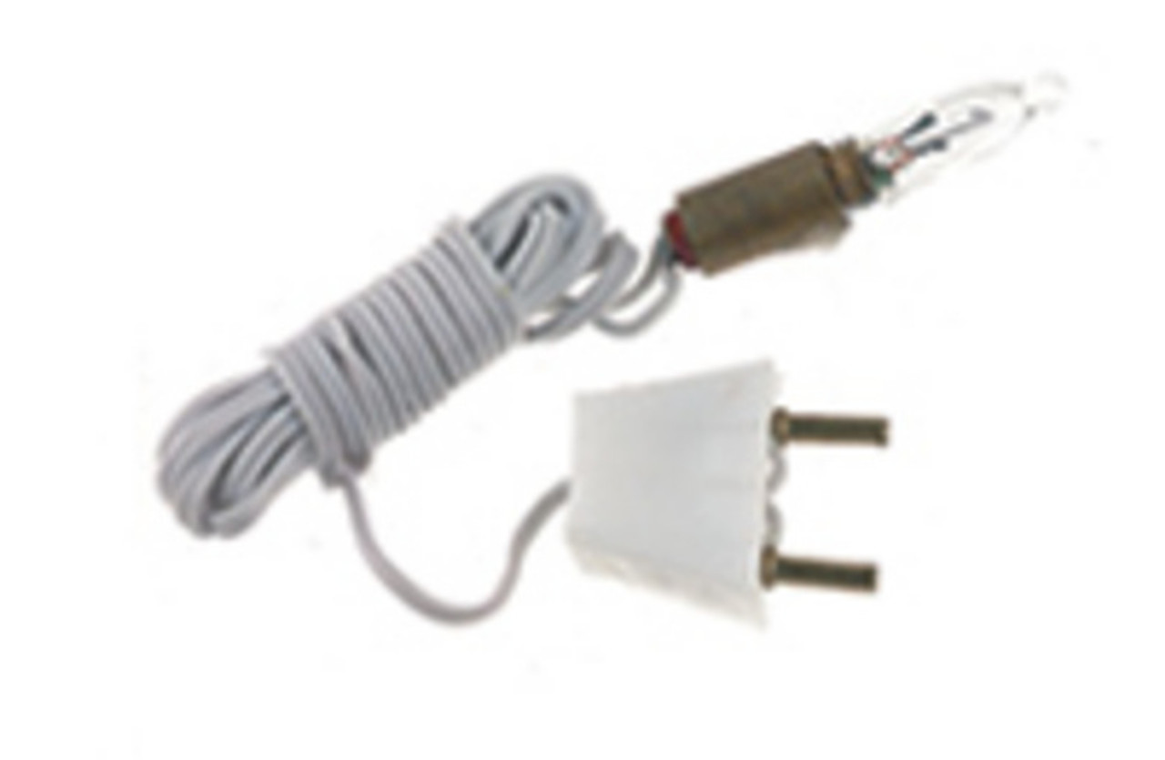 Screw Base Bulbs with Sockets - Candle flame