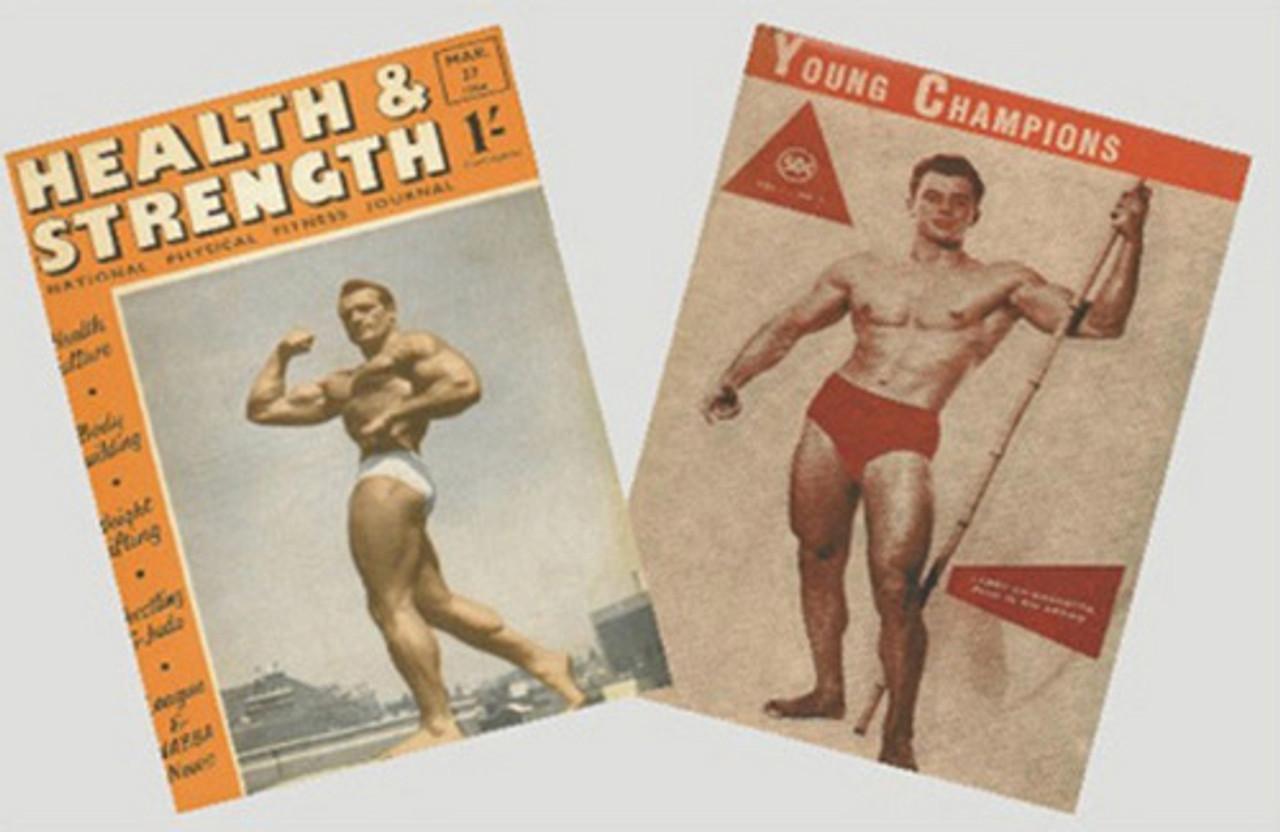 Vintage Muscle Magazines Set