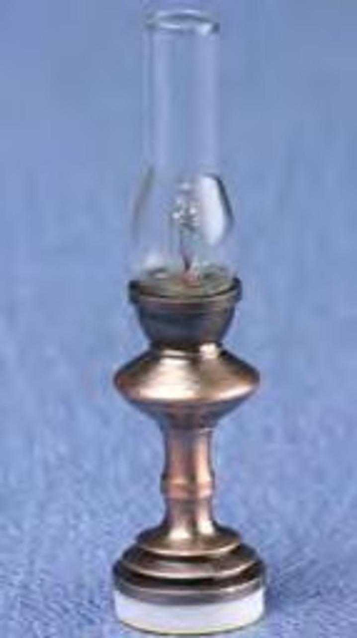 Hurricane Lamp - Antique Copper