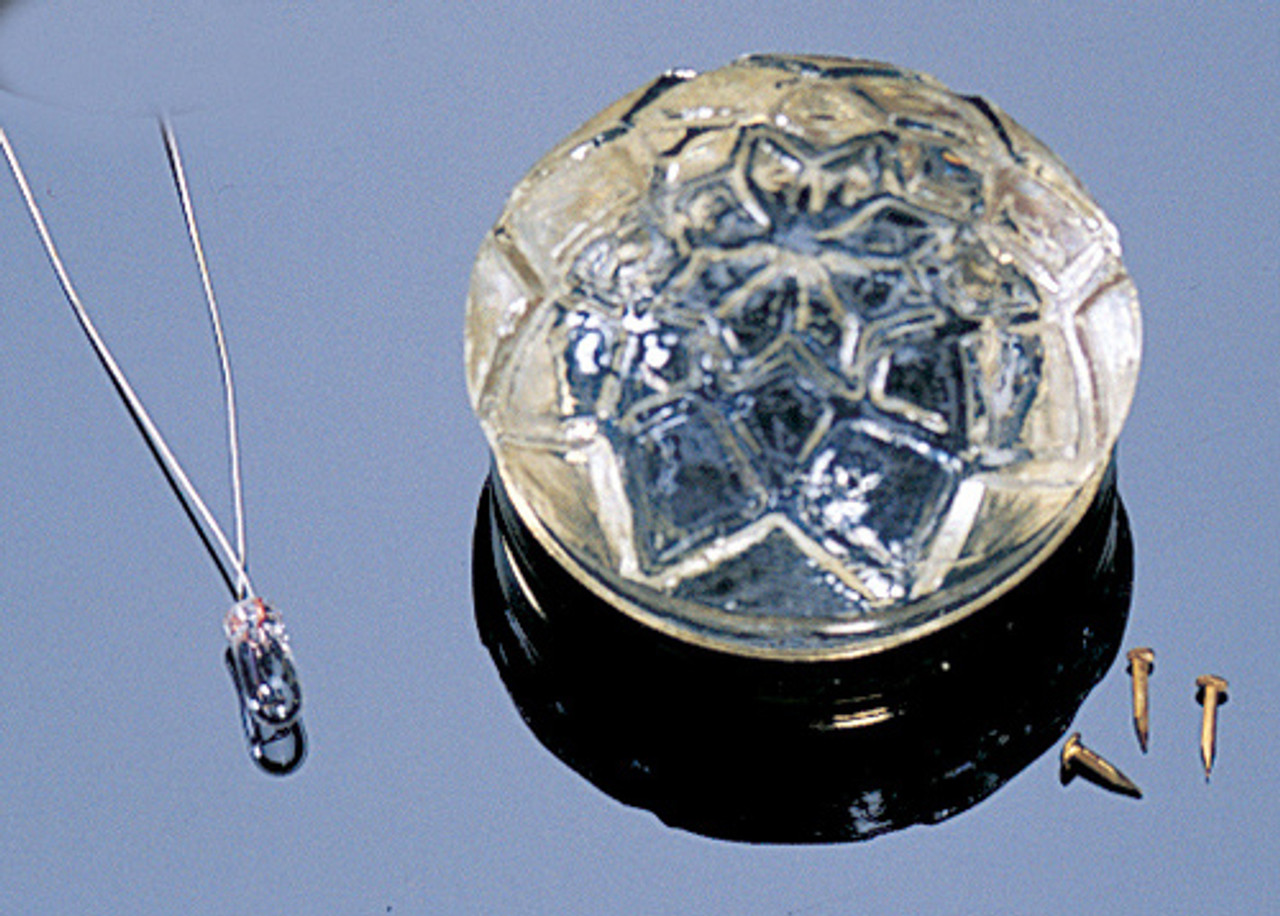 Dollhouse City - Dollhouse Miniatures Glass Ceiling Shade - Patterned